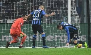 L'Atalanta, ici face à l'Inter Milan en novembre 2018, a concédé un 0-0 assez fou contre Empoli en Série A, le 15 avril 2019.