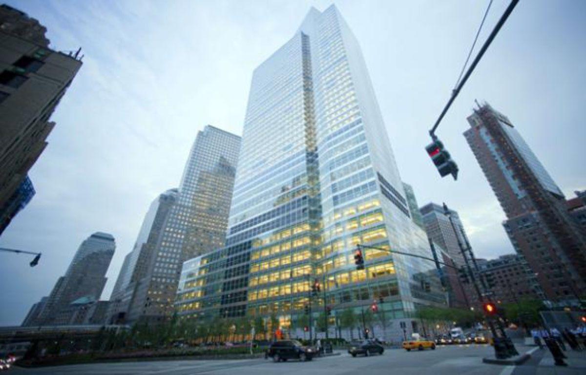 Le siège de Goldman Sachs à New York, le 3 août 2010. – RICHARD B. LEVINE/NEWSCOM/SIPA