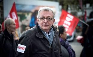 Pierre Laurent, secrétaire national du Parti communiste (PCF)