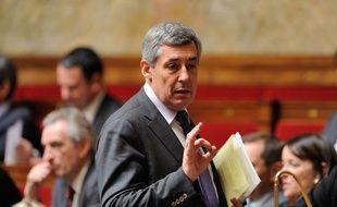 Le député UMPHenri Guaino, le 27 mars 2013 à l'Assemblée nationale.