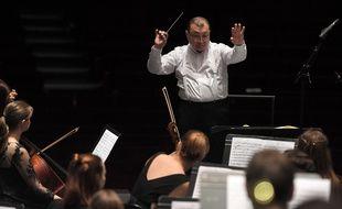 L'Orchestre symphonique des jeunes de l'Oural, lors de la 25e Folle Journée de Nantes, le 1er février 2019.