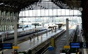 La gare de Lyon à Paris, le 16 juin 2014
