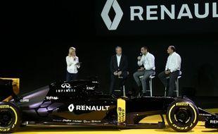 Renault a présenté son nouveau monoplace le 3 février 2016.
