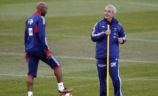 Nicolas Anelka n'avait «aucun respect pour l'entraîneur» Raymond Domenech.