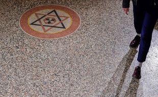 Une synagogue à Berlin en Allemagne.