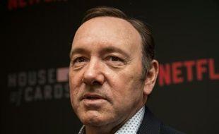 """L'acteur Kevin Spacey, star de la série de Netflix """"House of Cards"""", à Washington le 22 février 2016"""