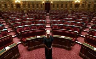 Sophie Joissains au Sénat en 2008