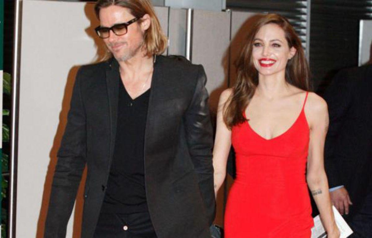 Brad Pitt et Angelina Jolie à Tokyo, Japon, le 9 novembre 2011 – Masatoshi Okauchi / Rex Features