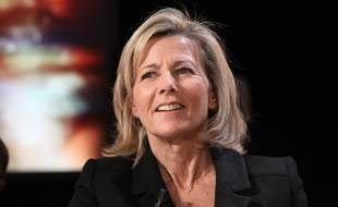 La journaliste Claire Chazal en décembre 2012.