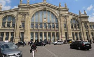 La gare du Nord. (Illustration)