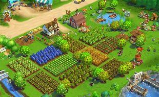 Le jeu vidéo « FarmVille 2: Country Escape », pour smartphones et tablettes.