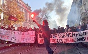 Manifestation contre la réforme des retraites du 5 décembre 2019 à Bordeaux