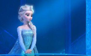 Extrait du film d'animation de Disney «La Reine des neiges».