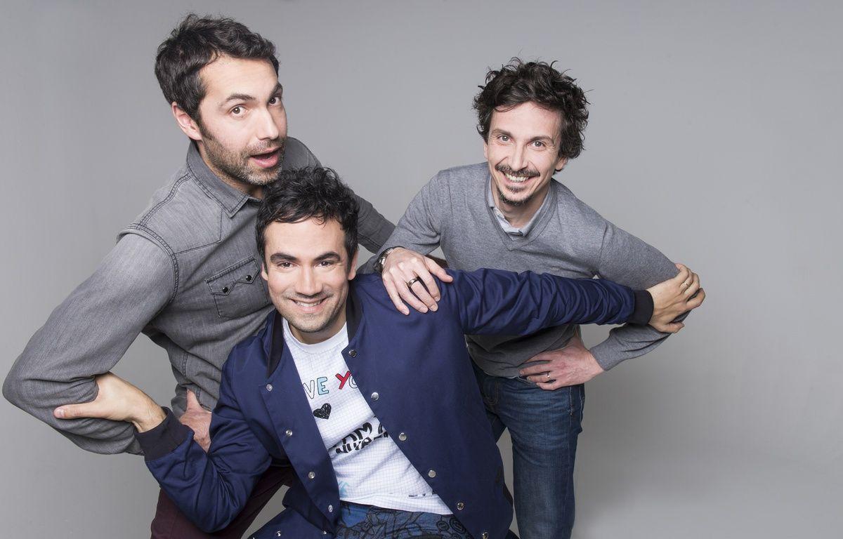 Ben, Alex Goude et Arnaud Tsamère sont dans «Vous pouvez répéter la question?» sur France 4. – Nathalie Guyon