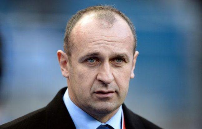 Philippe Saint-André, le manager du XV de France, le 9 février 2013, au Stade de France.