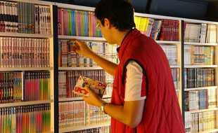 «Bonjour, je vais prendre le magasin, je paie avec le Pass Culture », n'a dit personne puisque c'est une image du premier Manga Café à Paris