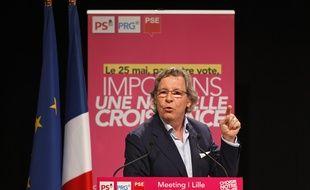 Gilles Pargneaux à Lille, le 15 mai 2014.
