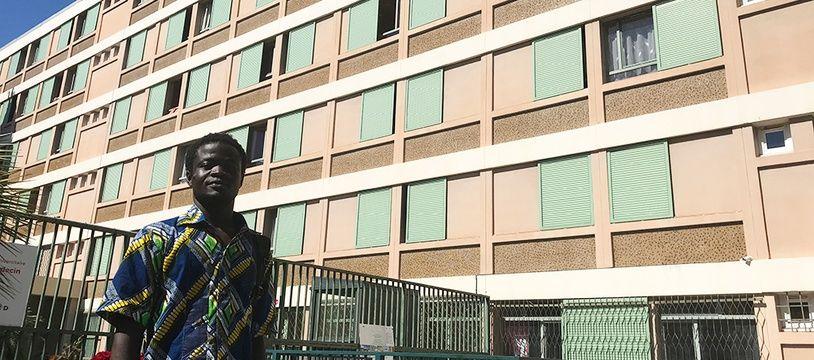 Cheick Amala n'a pas obtenu le renouvellement de son bail au Crous de Nice.