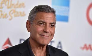 George Clooney, le 1er octobre 2016 à Los Angeles (Etats-Unis)