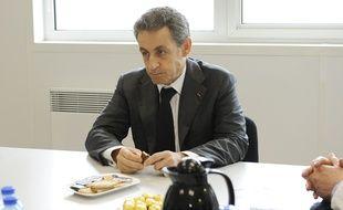 Nicolas Sarkozy à Armentières, le 25 mars 2015.