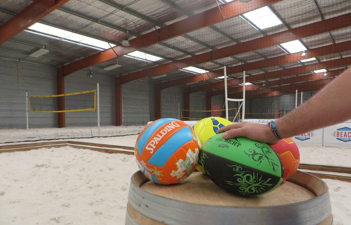 Le « Beach Park » de Tournefeuille, en banlieue toulousaine, propose six sports sur 2900 m2. – N. Stival / 20 Minutes