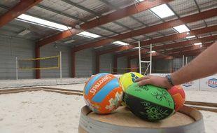 Le « Beach Park » de Tournefeuille, en banlieue toulousaine, propose six sports sur 2900 m2.
