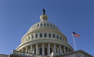 La sénat américain, à Washington le 19 ja,vier 2018.