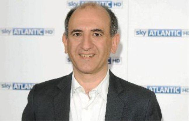 Armano Ianucci lors du lancement de sa série sur la chaîne britannique Sky Atlantic HD.