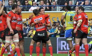Oyonnax a notamment signé un superbe exploit en l'emportant à Clermont (10-11) le 11 avril.