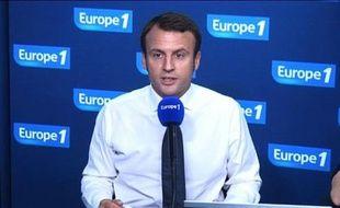 Emmanuel Macron était l'invité d'Europe 1 ce mardi matin.
