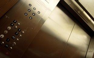 Un ascenseur, illustration.