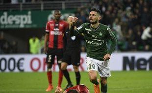 Rémy Cabella a inscrit ce dimanche son troisième but de la saison sous le maillot stéphanois.