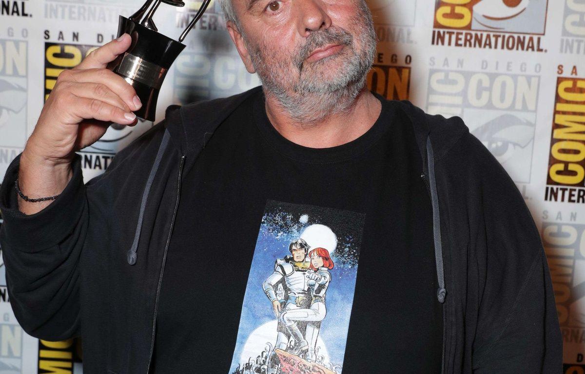 Luc Besson au Comic Con de San Diego, le 21 juillet 2016. – Eric Charbonneau / Rex / Shutterstock / Sipa