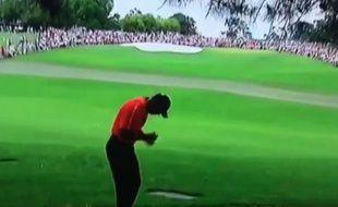 Tiger Woods a connu quelques déboires sur le parcours d'Augusta