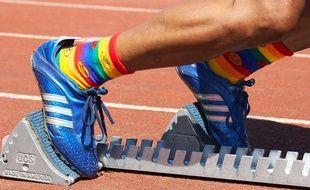 Photo d'illustration des Gay Games, le 3 août 2006 à Montreal.