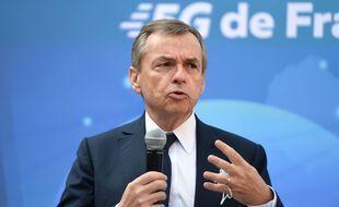 Alain Weill à Nice en novembre 2020