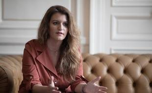 Marlène Schiappa, Secrétaire d'Etat chargée de l'Egalité entre les femmes et les hommes et de la Lutte contre les discriminations.Crédit:   Dessons/JDD/SIPA