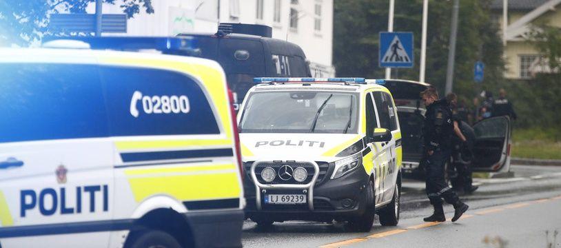 La police en Norvège