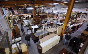 Le magasin Troc.com, à Plan de Campagne (Bouches-du-Rhône).