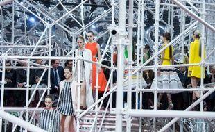 Le défilé haute couture printemps-été 2015 Dior.