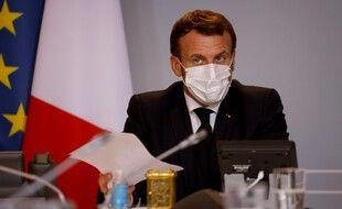 Emmanuel Macron, le 6 novembre 2020 à Paris.