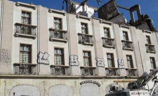 La façade de l'hôtel Duchesse-Anne.