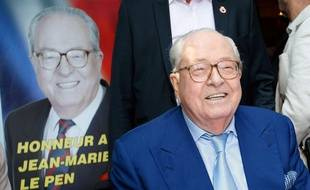 Jean-Marie Le Pen, photo d'illustration.