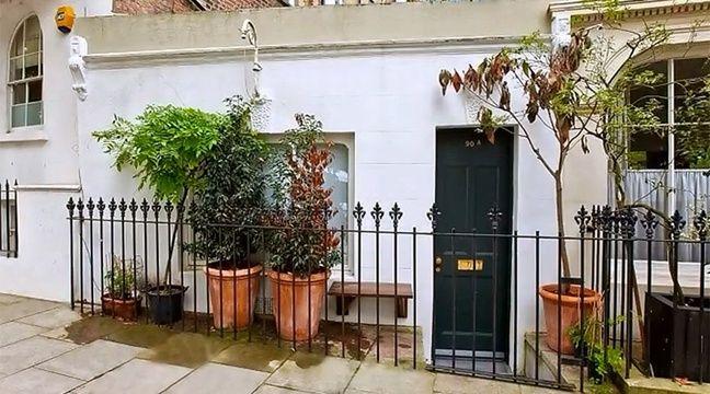 video londres la plus petite maison d angleterre a t vendue. Black Bedroom Furniture Sets. Home Design Ideas