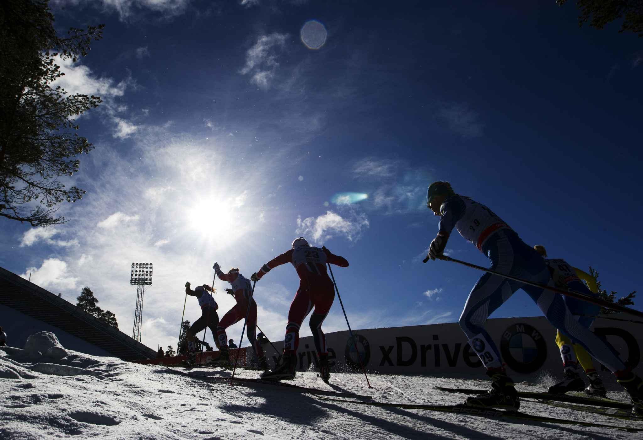 Un skieur vénézuélien soupçonné d'immigration bloqué à Paris — Lahti