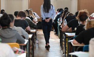 Une épreuve du baccalauréat à Strasbourg, le 18 juin 2018.
