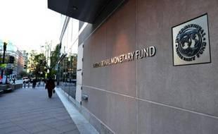 Le siège du FMI, à Washington.
