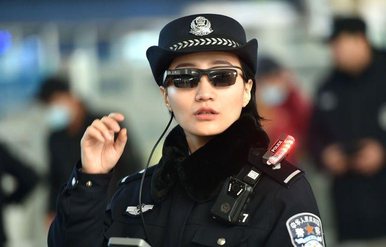 les dernières nouveautés réduction jusqu'à 60% acheter en ligne Chine: La police s'équipe de lunettes dotées de la ...