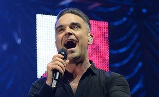 Robbie Williams sur scène