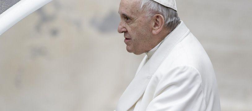 Le Pape François au Vatican, le 4 avril 2018.